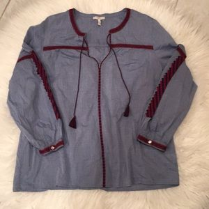 Joie Chambray top